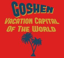 Goshen Vacation Capital by Location Tees