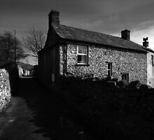 A Reeth Lane by English Landscape Prints