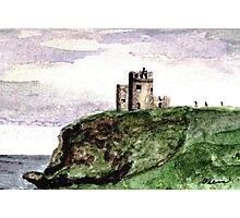Trekking to the Cliffs of Moher, Ireland Photographic Print