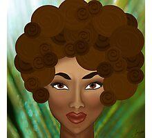 My Inner Nubian Goddess Photographic Print