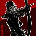 The Survivor Girl by Mixposters