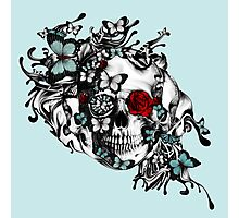 Lost Soul, Americana Butterfly Skull Photographic Print