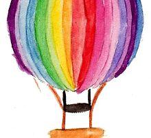 Hot Air Ballon by IndiannaRose