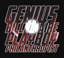 Genius, Billionaire, Playboy, Philanthropist by Justin Butler