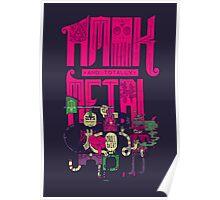 Amok and Totally Metal Poster