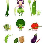 Veggie Army by Jiaqihe