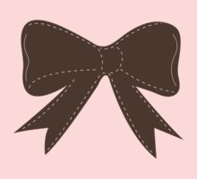 Brown bow Kids Clothes