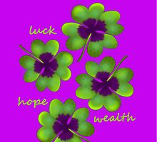 Four leaf clover by capricedefille