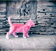 Tiny Pink Panther by Lynn Starner