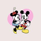 minnie and mickey mouse by shorouqaw1