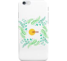 Watercolor floral design iPhone Case/Skin
