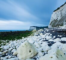 Morning at the White Cliffs of Dover by Ian Middleton