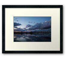 Safe Harbor After the Storm Framed Print