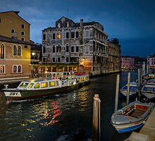 Venice at Night by Tony Steinberg