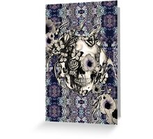 Maybe Next Time, Floral skull Greeting Card