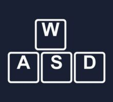 PC Gamer's WASD Tee by AddictGraphics