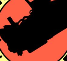 Time Express (Delorean) Sticker