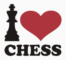 I love chess by Designzz