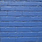 Blue Brick Wall © by Ethna Gillespie