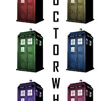 Doctor Who TARDIS Design by lucyrking