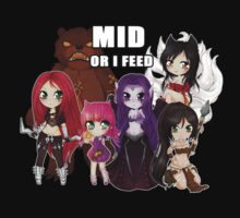 Mid or FEED - League of Legends by linkitty