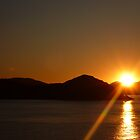 Ocean Sunset by effortless-art