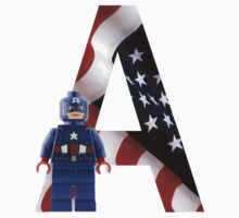 Lego Captain America by CTBDesigns