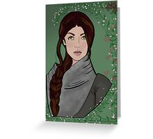 Heroic Woman Greeting Card