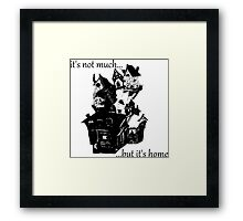 Harry Potter - The Burrow Framed Print