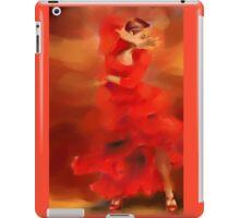 Flamenco dancer iPad Case/Skin