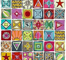 sketchy squares by Sharon Turner