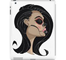Candy Skull Girl iPad Case/Skin