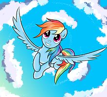 Rainbow Dash by Arielle Campbell
