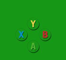 Xbox Gaming Case by Tuscador