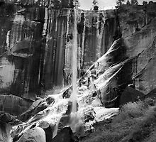 Ice On Vernal Falls by lifeinfineart