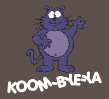 Eek the Cat - Koom-Bye-Ya - White Font by DGArt