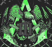 Assassin's Creed 3 Green by Zach Medici