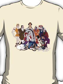 Jerry Lewis - Group - Color T-Shirt