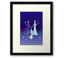 Origami - Do you want to build a snowman Framed Print