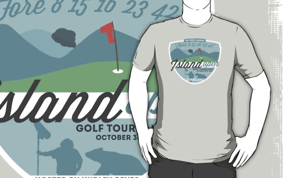 Lost - Hurley's Island Open Golf Tournament by BenFraternale