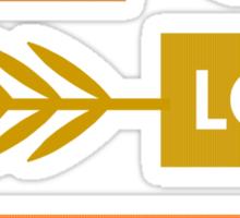 Peace, Love, Blogginess Sticker