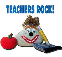 Teachers Rock! by MoMoCards