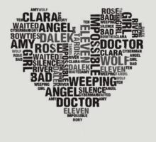 Doctor Who Heart by catheriness