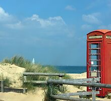 Phone box for Bragging... by M R Cooper