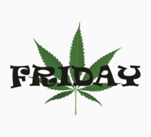 "Friday ""Marijuana Leaf"" by mhykel"