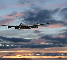 Lancaster - 'On a Wing and a Prayer' by warbirds
