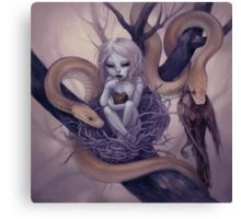 snake child Canvas Print