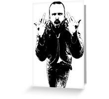 Jesee Pinkman Breaking Bad  Greeting Card