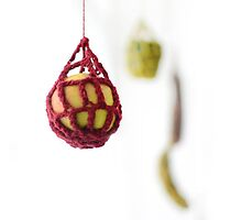 Crocheted Apple  by Abilittlewood