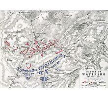 Battle of Waterloo Photographic Print